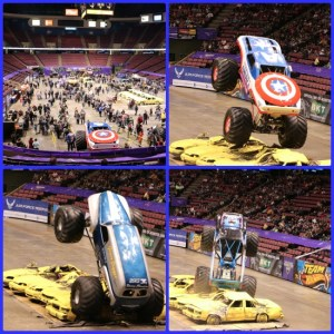 IZOD Center NJ Hosts Monster Jam