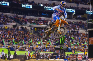 Monster Energy Supercross at the MetLife Stadium April 26th