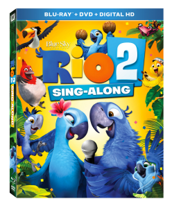 Rio2 Sing -Along DVD/Blu-ray #Giveaway # Activity Sheets #FHEInsiders