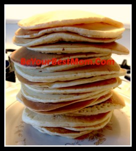 Easy Pancake Recipe and Time Saving Tips