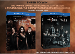 The Vampire Diaries and The Originals #TVD #TheOriginals #Giveaway