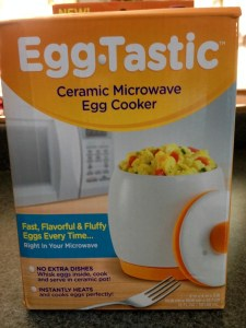 Eggtastic Microwave Egg Cooker #SeenOnTV #Food #Review