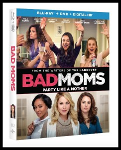 Bad Moms: Party Like a Mother on DVD/Blu-ray #BadMoms