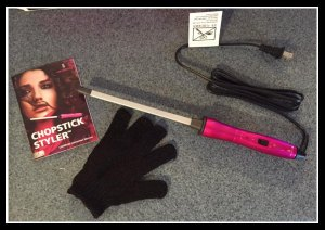 Lee Stafford CHoPstick Styler #Review #Giveaway #Chopsticked