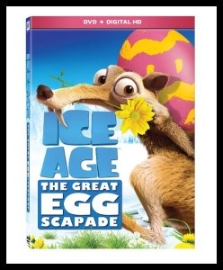 Ice Age: The Great Egg-Scapade on DVD #IceAge