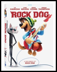 Rock Dog on Blu-ray and DVD #RockDog #Review