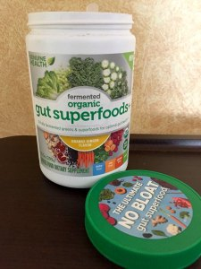 Fermented Organic Gut Superfoods+ #GHsuperfoods #Review #Giveaway