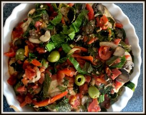 Chicken Cacciatore the Healthy Way #ChickenCuisine