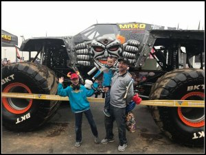 Monster Jam Rocks Rain or Shine #MonsterJam