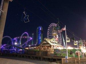 Casino Pier and Breakwater Beach Waterpark in Seaside Heights #VisitNJ