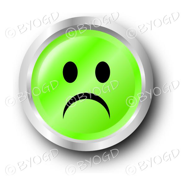 green sad smiley face