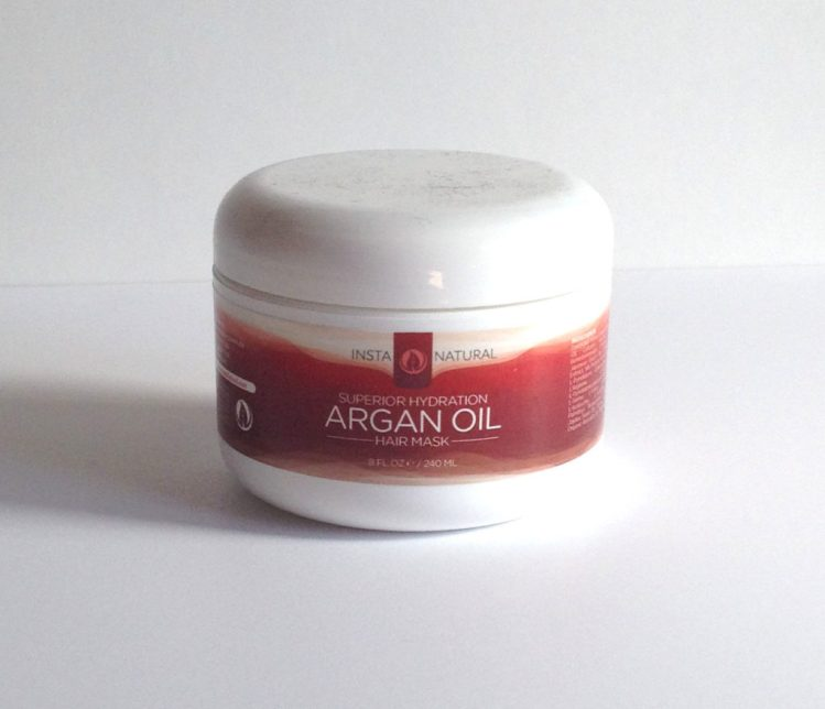 InstaNatural Argan Oil Hair Mask Review - Beyoutiful Beauty