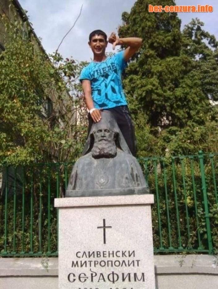 Нова гавра на роми с български паметник взриви мрежата! (СНИМКИ)