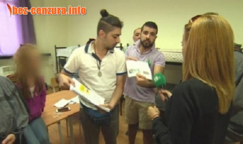 Наглост! Бежанците в София стачкуват, искат къща за всяко семейство и по 500 евро на всеки