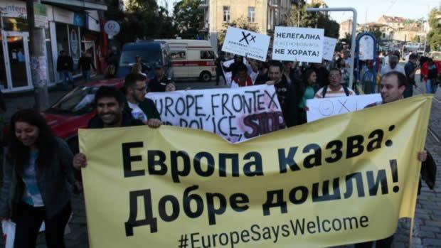 Не планиран сблъсък в Афганистанци в София !