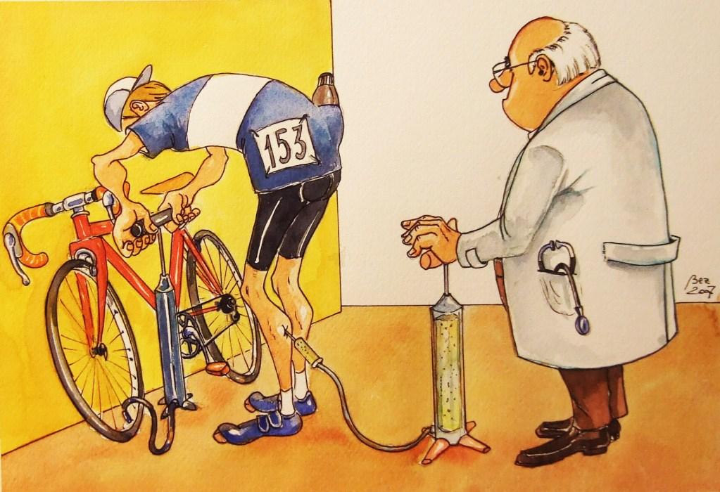 Ciclismo – la pompa