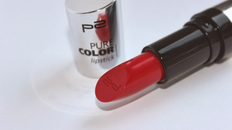 p2 pure color lipstick Red Square