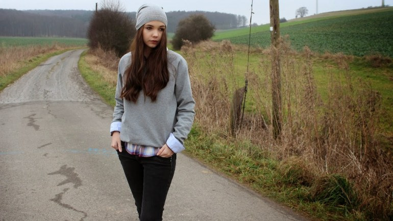 Outfit: Grey and Black