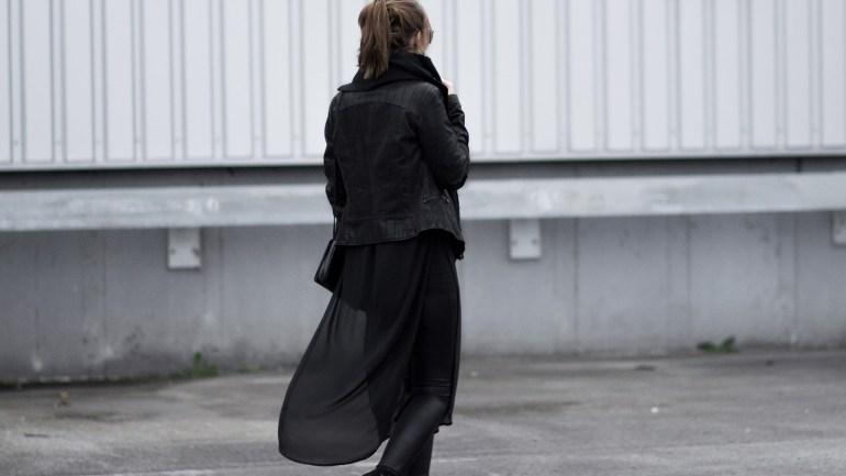 So trage ich ein All Black Outfit!