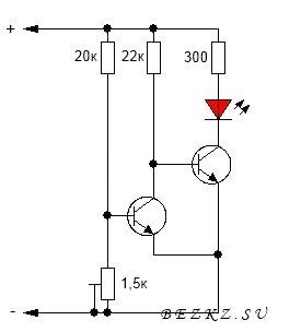Индикатор рязряда батареи » Электрик