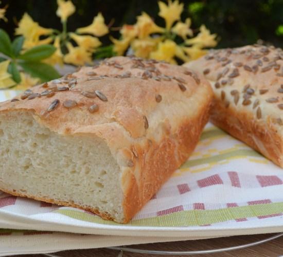 Tvarohový slaný chleba