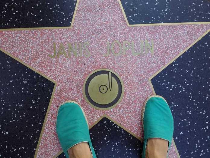 Janis Joplin star