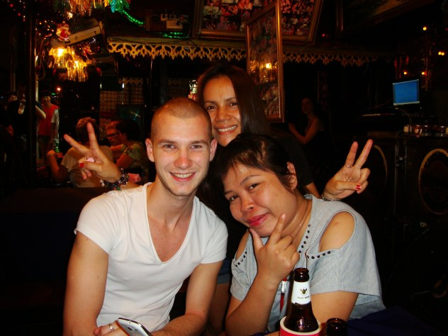 kind Thais in Bangkok