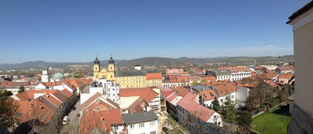 city rectory trencin view
