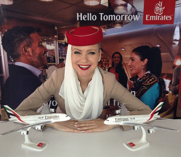emirates girl