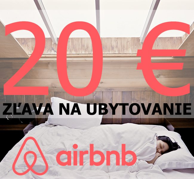 zlava na ubytovanie s airbnb