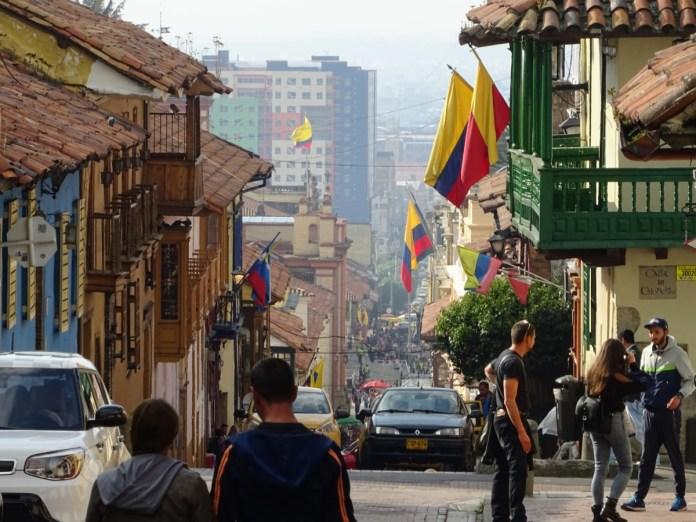 hlavné mesto kolumbie