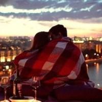 5 мест для свиданий, куда пойти на свидание, фото на крыше, фото влюблённых