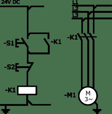 Stosowanie przekaźników bezpieczeństwa - układ start-stop z podtrzymaniem kat. B