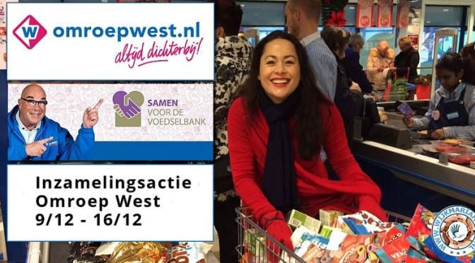 9-16 december: Inzamelingsactie voedselbank Omroep West, ook in Bezuidenhout