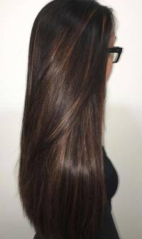 Mocha Hair Color With Lowlights Dark Brown Hairs Of Mocha ...