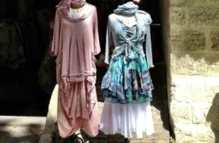 Shopping in Uzes France