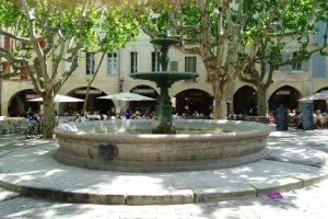 Place aux Herbes, Uzes, France