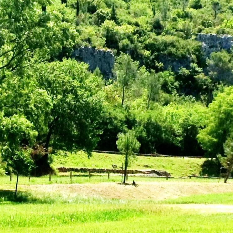 Vallée de l'Eure, Uzès, France