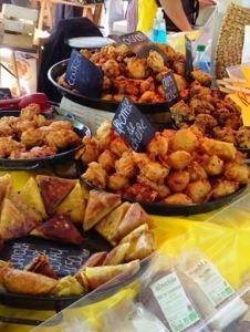 San Quentin la Poterie France friday market