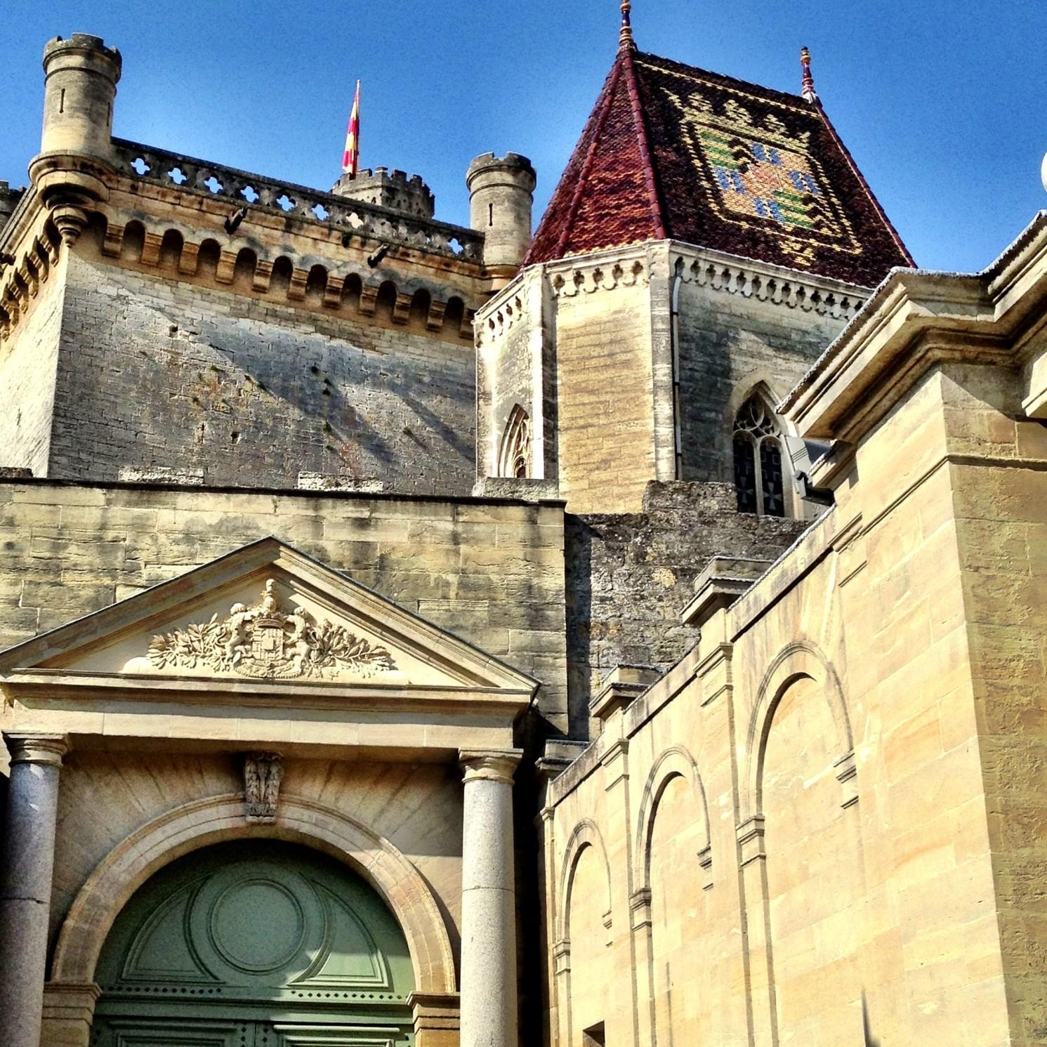 Place du Duché in Uzes, France