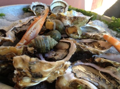 Seafoods of Sete, France