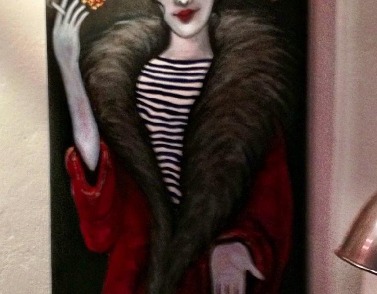 Christina Rabaste, Artist, Sete, France