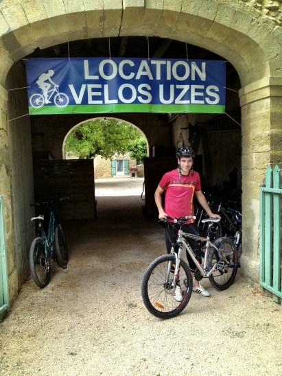 Bike shop, Uzes
