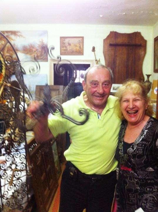 Jean Claude, brocante dealer , Uzes