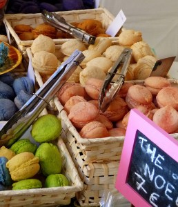Macaroons at Christmas Market Uzes. Need I say more?!