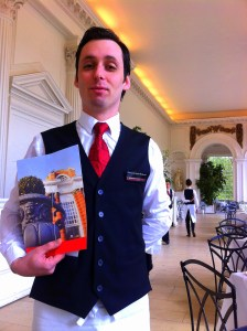 Waiter at The Orangery