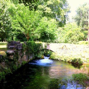 Source d'Eure in Uzes Park
