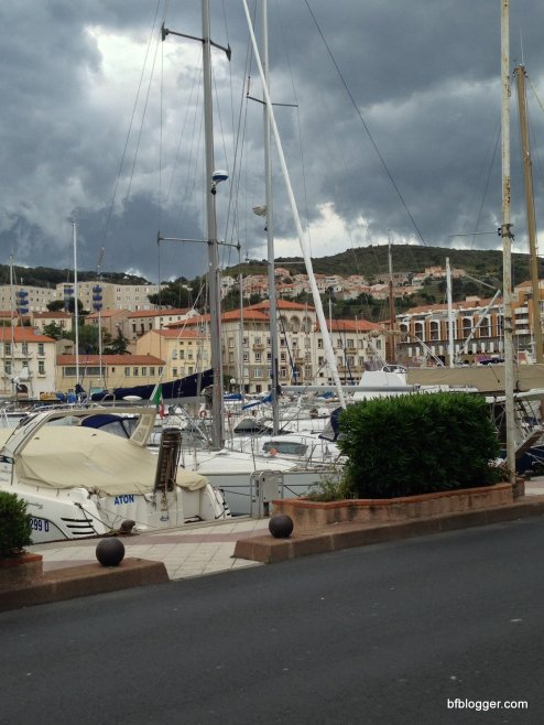 Port Vendres and Collioure, France