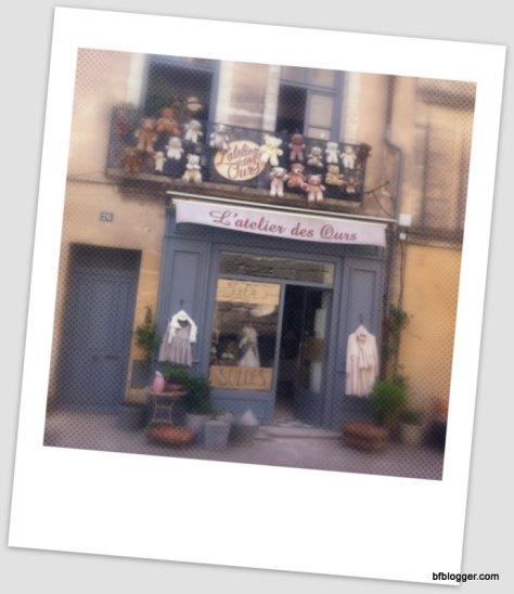 L'Atelier des Ours in Uzes, France