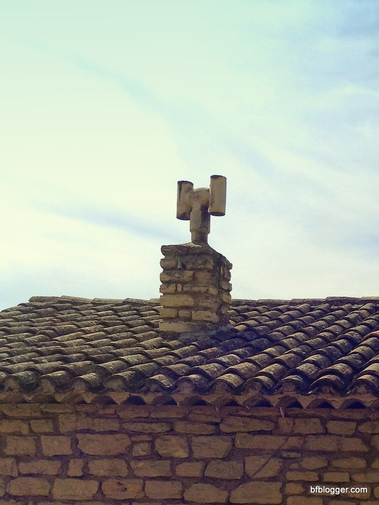 Architectural details from an ancient past